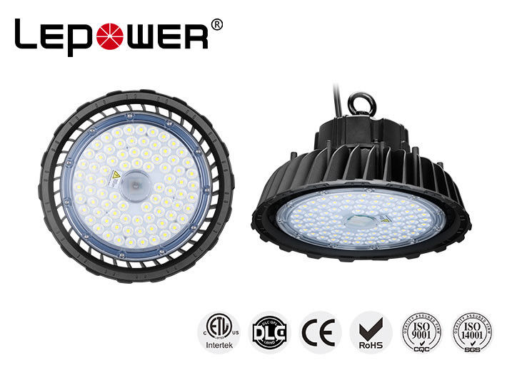120 Watt Led High Bay Light Fittings Industrial Radio Sensor Dimming High Lumen Chip